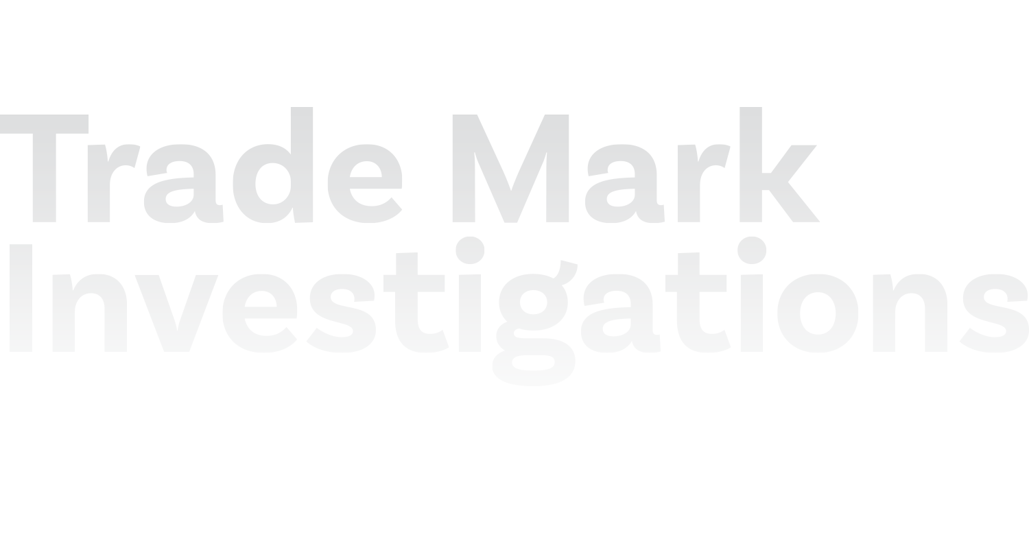 Trade Mark Investigations