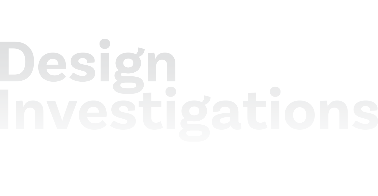 Design Investigations